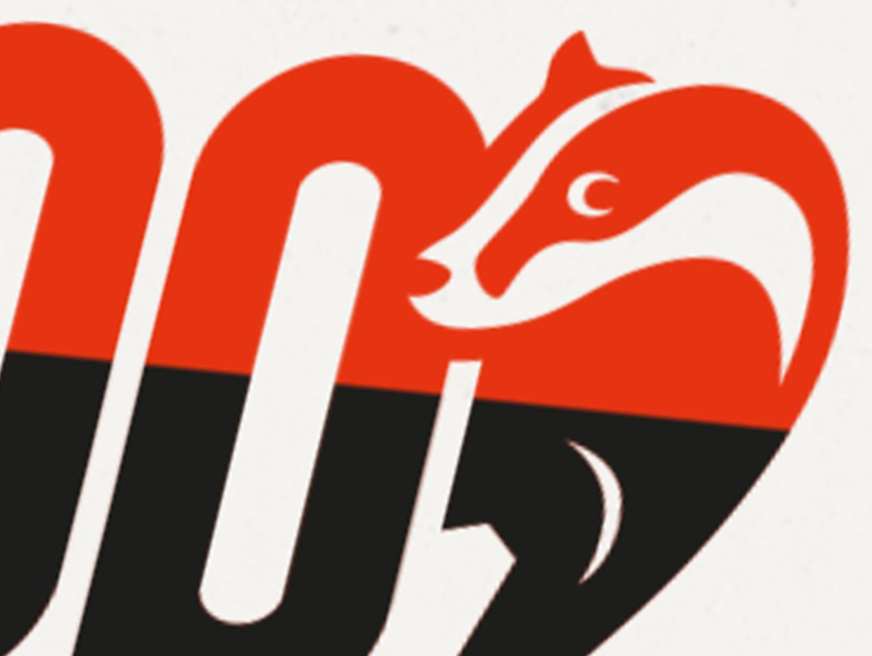 Clos Up des Logos Koop mit dem stilisierten Bild eines Dachses