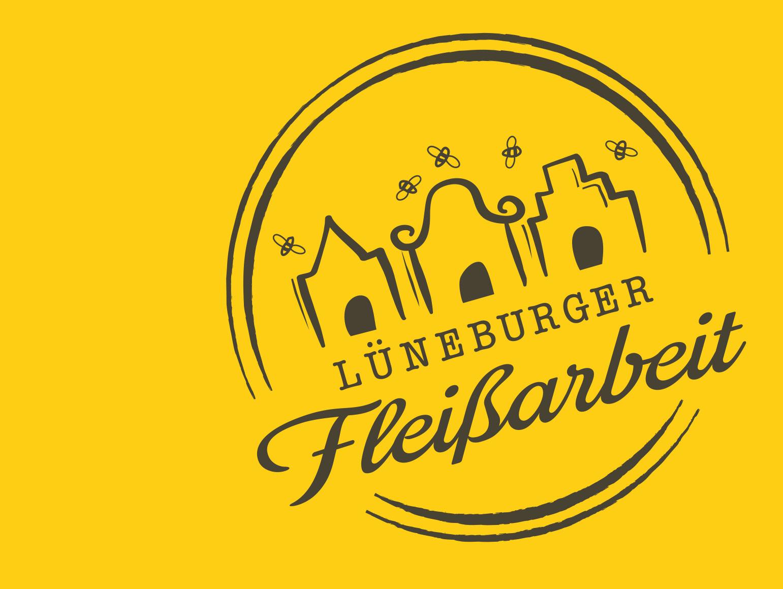Stempel mit Logo Lüneburger Fleissarbeit